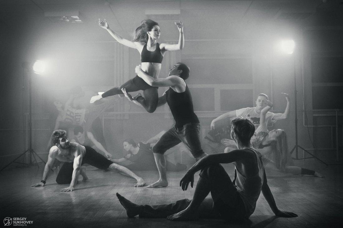 танец фото движение