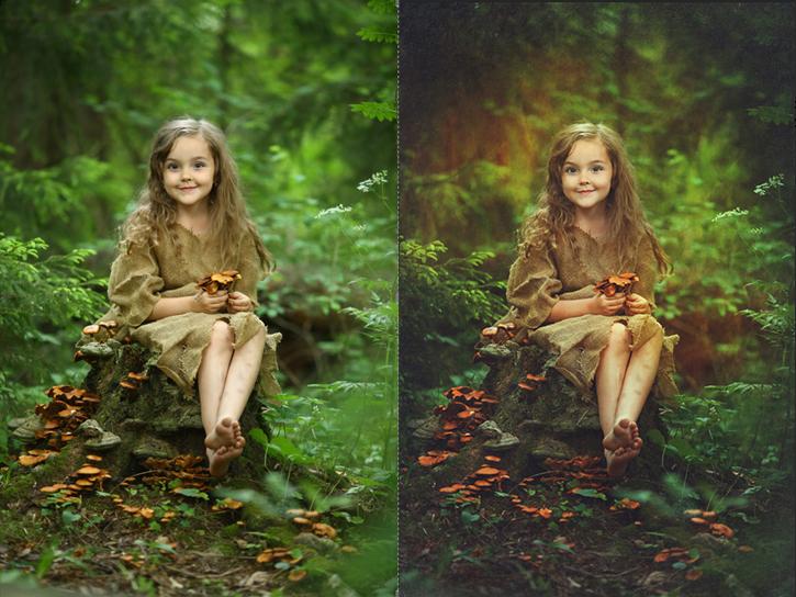 Художественная обработка фото