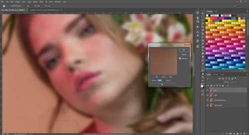 Beauty high end retouch