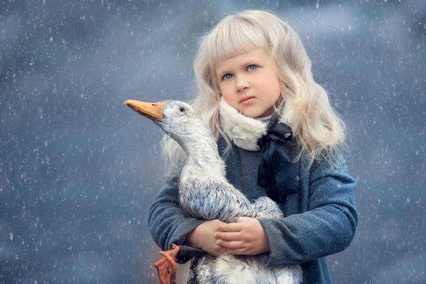 Фотосъемка детей с животными