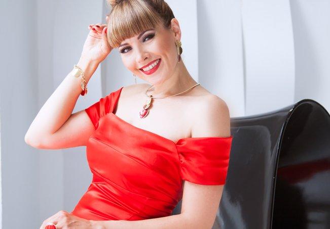 Фотомодель, телеведущая Ольга Долгих