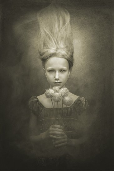 Авторская обработка портрета