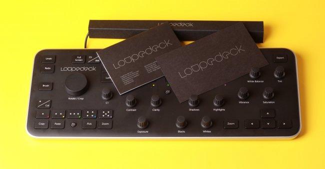 Loupedeck — консоль для фотографов