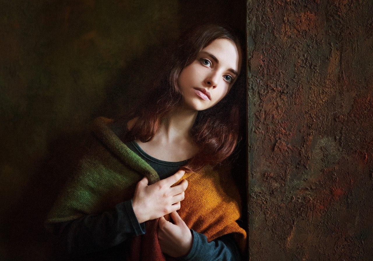 фото портрет позади матовое