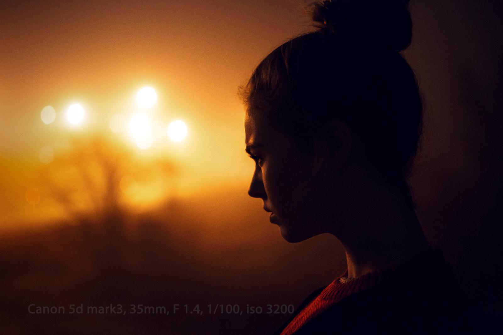 как фотографировать в темное время суток людей без развлечений